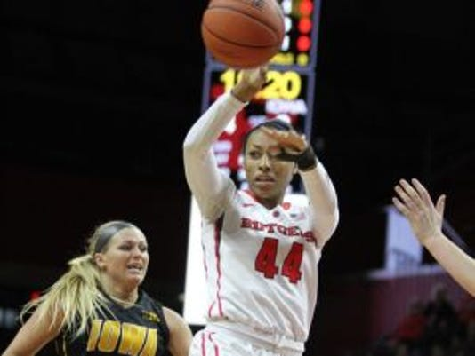 Rutgers forward Betnijah Laney was selected No. 17 in the WNBA Draft by the Chicago Sky.(Photo: File photo)