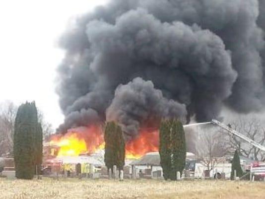 Castle Rock Inn fire.jpg
