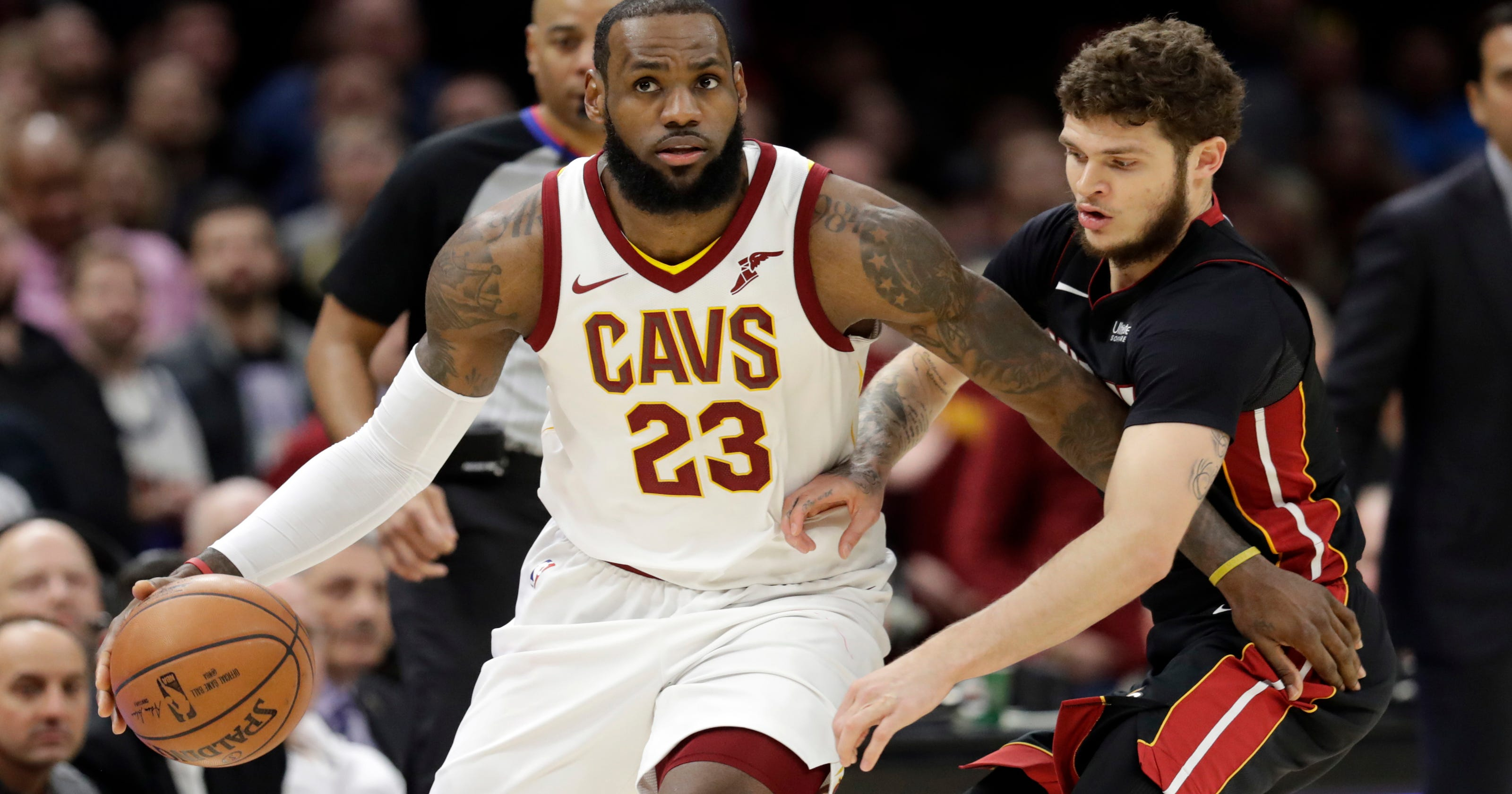 bc4386016c55 LeBron says he  will definitely not shut up and dribble