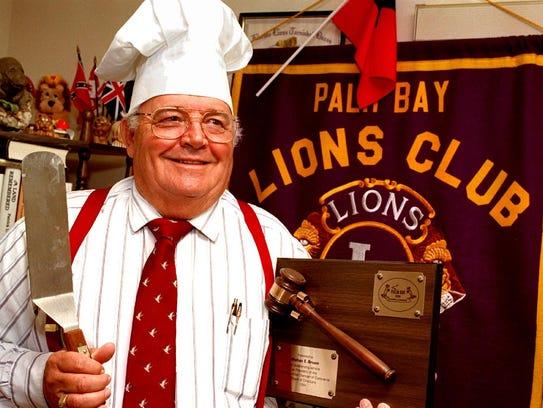 Palm Bay Mayor Mel Broom, a man of many talents. Great