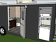 A prototype of a shower trailer to serve the homeless