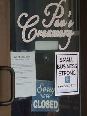 Pav's Creamery on Front Street in downtown Cuyahoga Falls will reopen in August. The store, which helped bring vitality to a stretch of Front, did not reopen in May following the approximately two-month shutdown of eating and dining establishments in Ohio.
