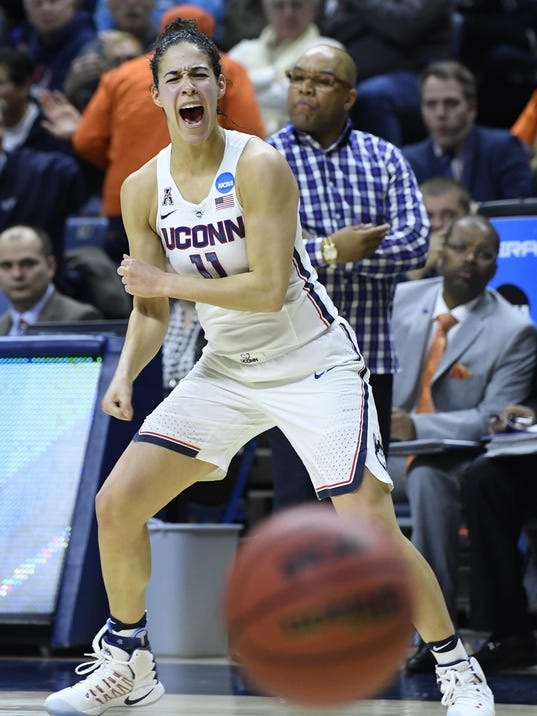 UConn vs Syracuse women's basketball