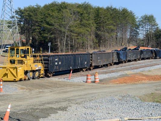 Coal Ash Railcars