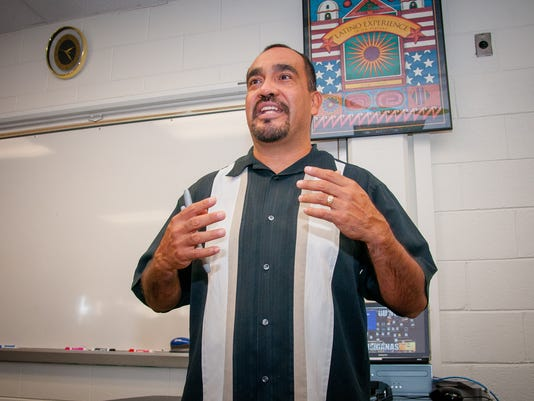 New Mexico Teacher of the Year David Morales