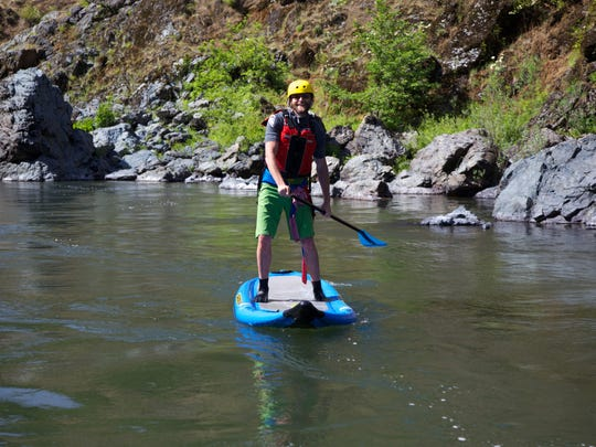 Owner of Northwest Rafting Company Zach Collier said bringing stand up paddleboards on rafting trips on the Rogue River have become a fun element of the trip for guests.