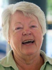 June Headrick - Wednesday, June 6, 2018, St. Margaret's Hospital reunion in Montgomery, Ala. (Julie Bennett/Montgomery Advertiser)