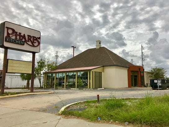 The former building for Phares Kitchen located at 3502