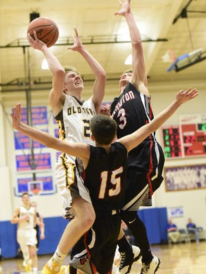 Old Fort's Hootie Cleveland wasn't ready to be finished with his basketball career and will play at Tiffin.