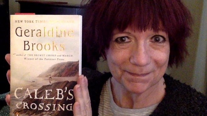 """Provincetown novelist Jeannette de Beauvoir and the Provincetown Public Library will host the Provincetown 400 Book Club, with the first virtual meeting at 6 p.m. Thursday, July 2, featuring """"Caleb's Crossing"""" by Geraldine Brooks. Call 508-487-7094 for more information."""