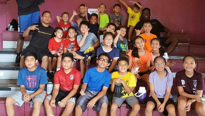 Bank of Guam is offering a treat over the summer break with its weekly half day basketball camp program for youths starting June 5 to Aug. 4 at Tamuning Gym. Camp leaders are Chaminade University Lady Silverswords student-athletes Kali Benavente and Destiny Castro together with UOG student Brian Kami. For more information, contact 646-5211 or visit www.guambasketball.com to download the registration form.