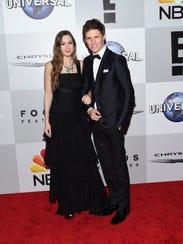 Eddie Redmayne and his wife Hannah Bagshawe kept the