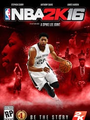 Anthony Davis is one of three NBA players gracing the