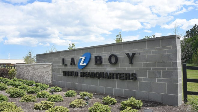 The La-Z-Boy World Headquarters plant is pictured in this June 27, 2016, file photo.