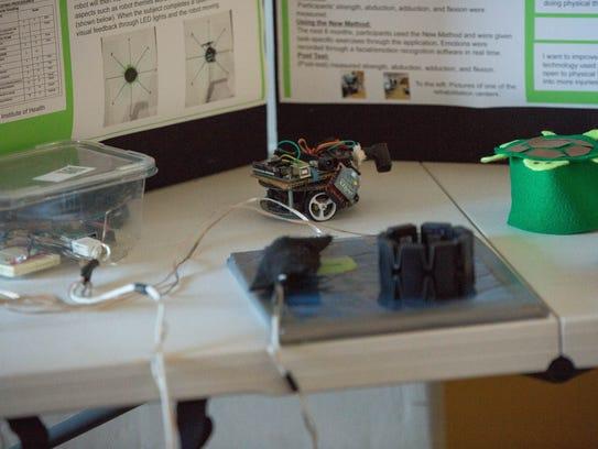 Mustafa Muhyi's award-winning experiment uses robots