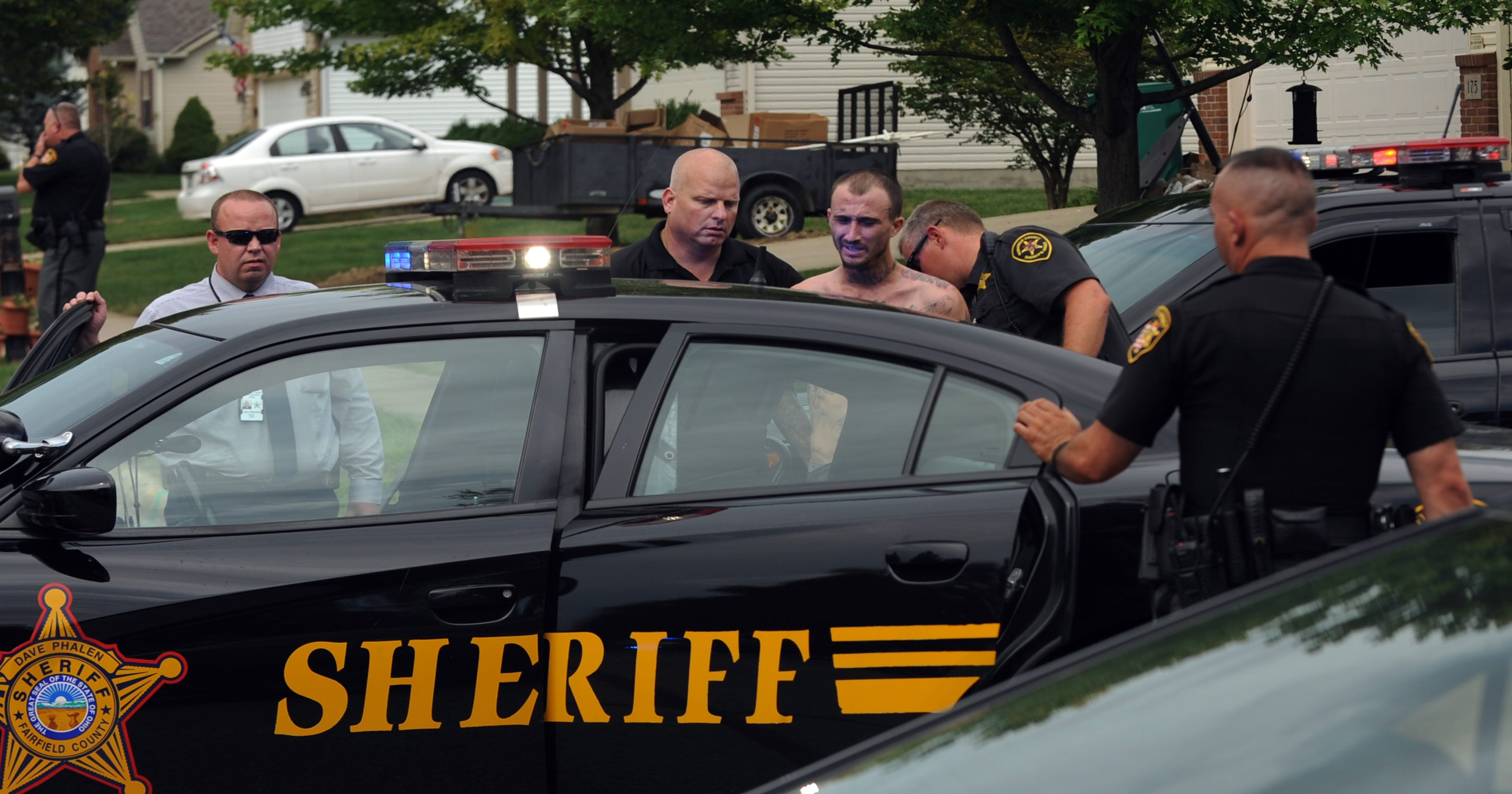 Inmate arrested after escaping officers in Canal Winchester