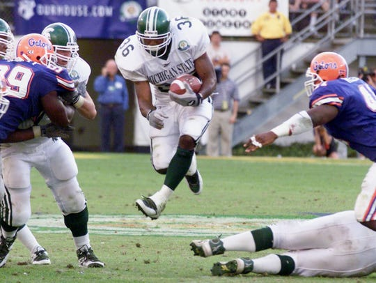 Michigan State's trip to the Citrus Bowl for its game