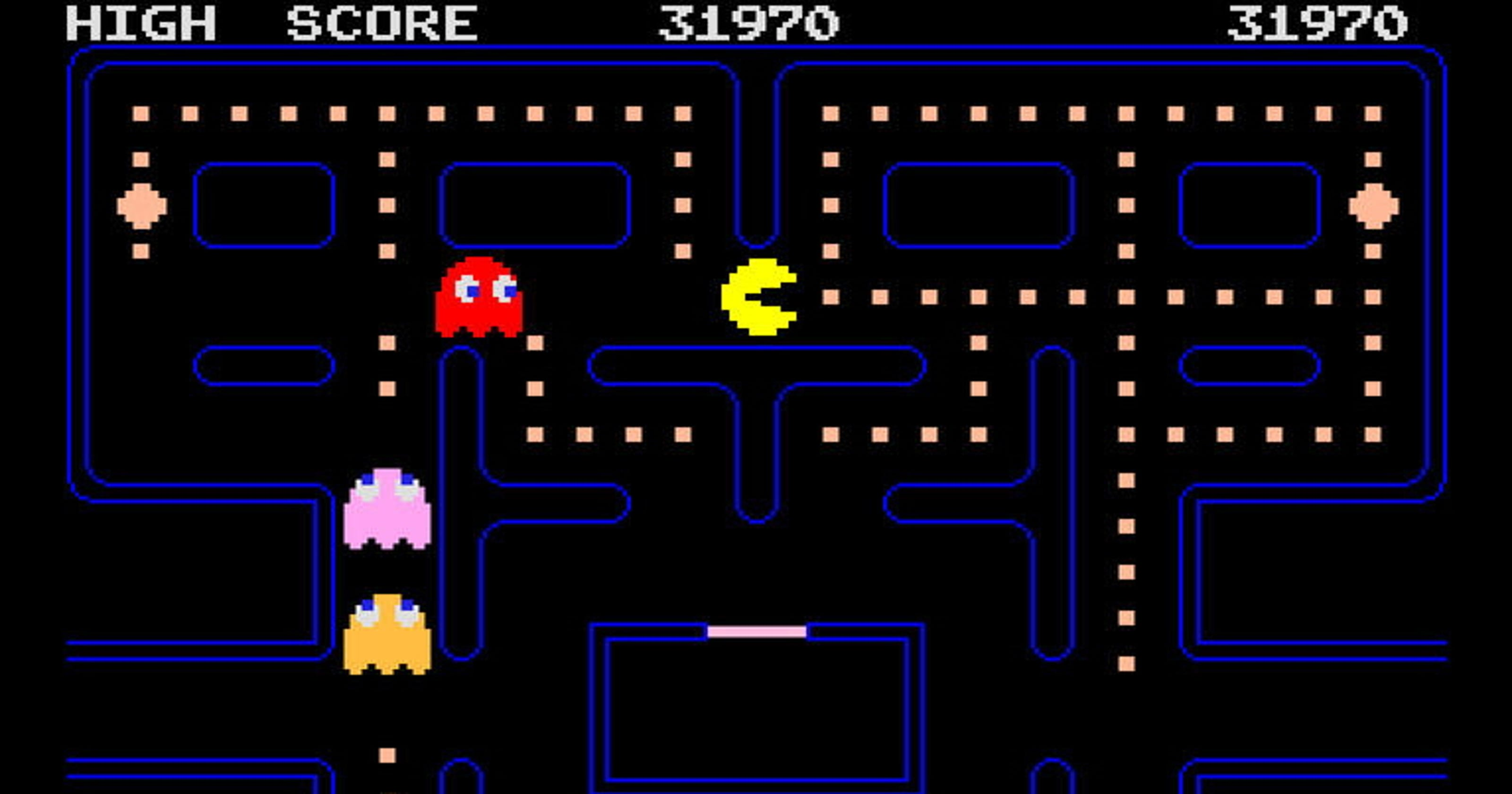 It's just a picture of Intrepid Images of Pac Man