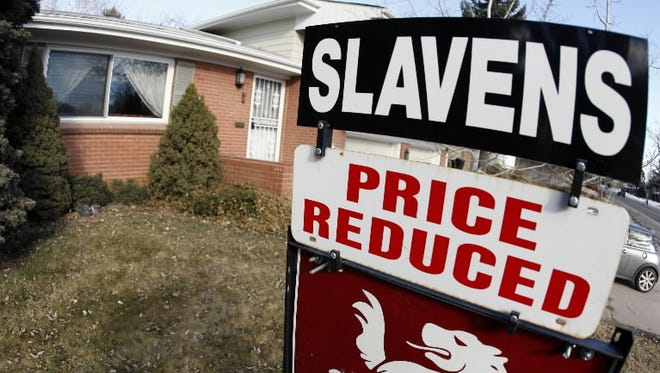 Home prices plummeted in 2008 during the Great Recession. Jan. 12, 2008, Denver.
