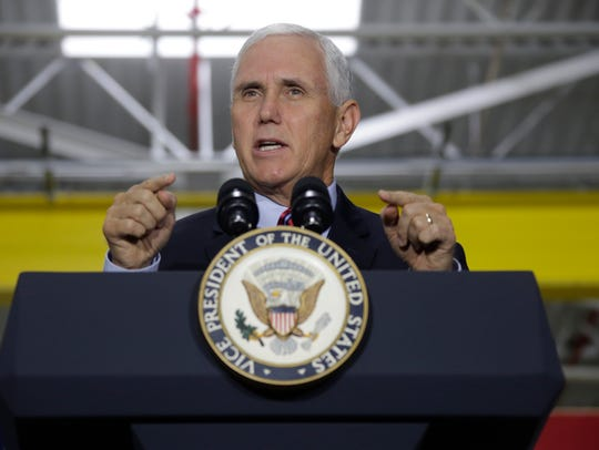 VP Mike Pence speaks at American Axle and Manufacturing