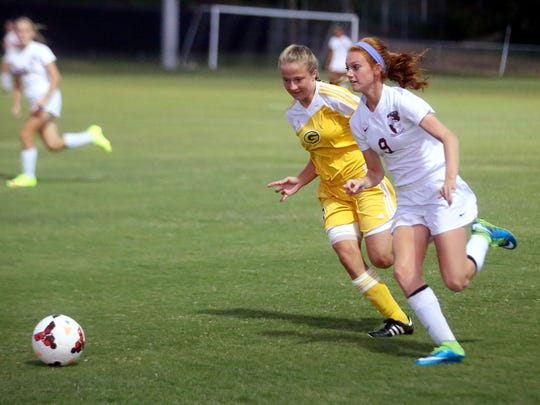 Station Camp forward Megan Brinkley enters her senior season after earning All-County Co-Offensive Player of the Year honors last season.
