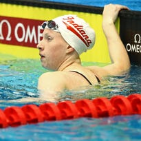 IU swimmer Lilly King: No danger of this No. 1 seed losing