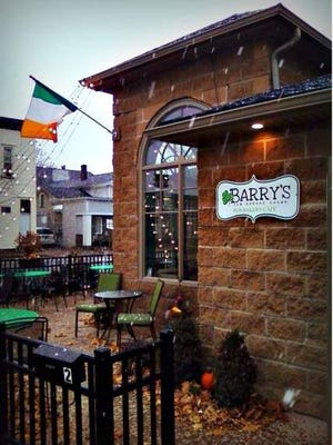 Barry's Old School Irish is at 2 W. Main St., Webster.