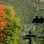 Check out the foliage from above by riding the Sky Rides (a.k.a. ski lifts) at Bristol Mountain.