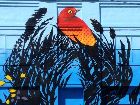 The refinery unveils new south slope mural for Asheville mural project