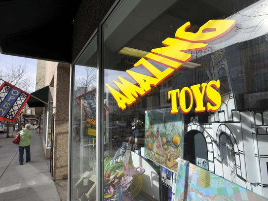 Amazing Toys at 515 Central Ave. is going out of business
