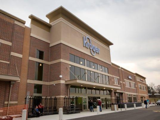 February 21, 2017: Kroger, Corryville, new store, Clifton, Liz Dufour