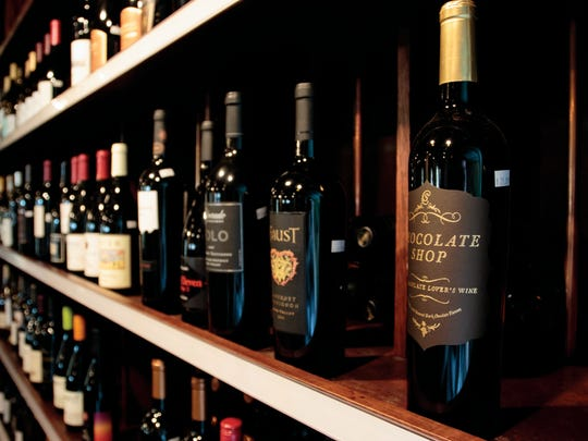 Wine Maniacs carries 50 different wines at a time. The wine comes from around the world.