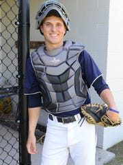 Pocomoke catcher Jared Hancock is the first player