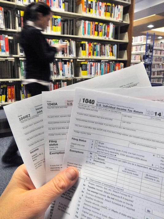 Metro Detroit Libraries Short On Tax Forms