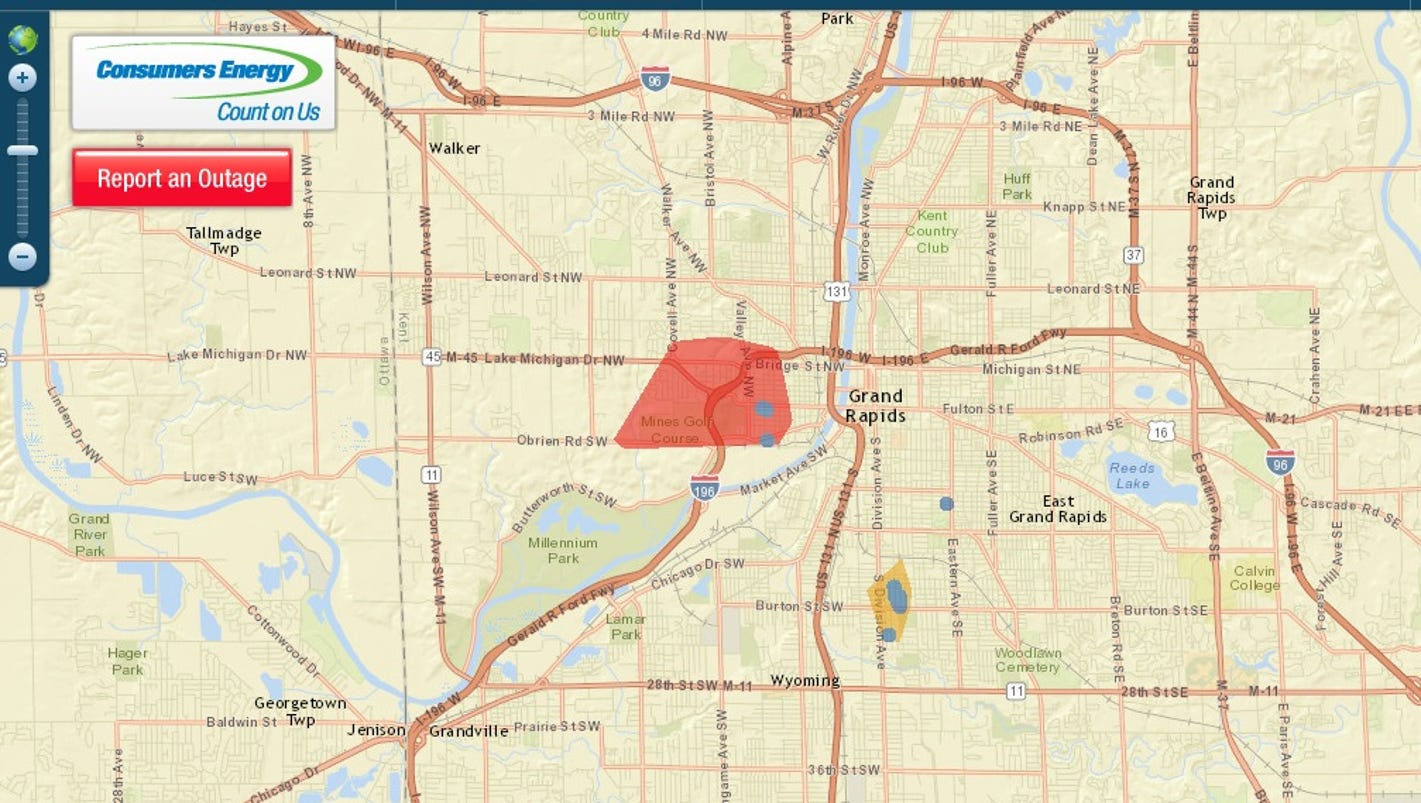Power Outage Hits Grand Rapids Westside