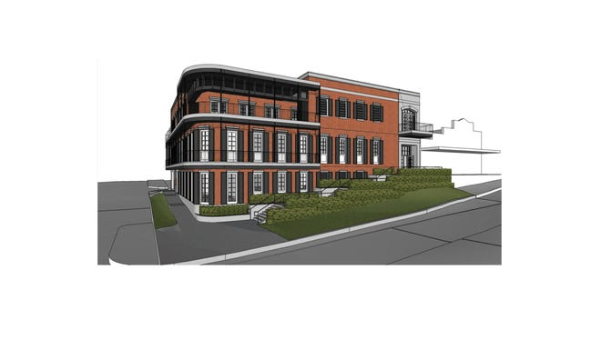 Florida Power & LIght is building a three-story office building in downtown Tallahassee.