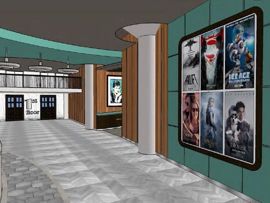 What the interior of Sperry's MovieHouse could look like