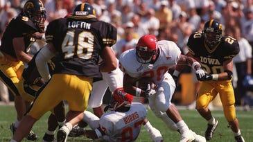 Cyclone Darren Davis rushed for 244 yards against Iowa in 1998.