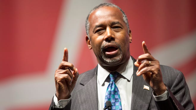 Ben Carson: Should he wait around to find out if it's just a necklace?