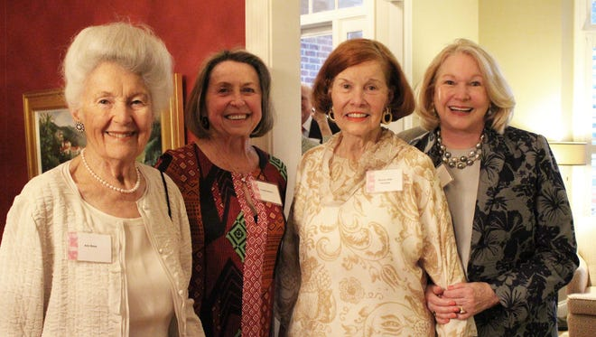 Anne Roos, Yvonne Greene, Eleanor Willis and Ellen Martin.