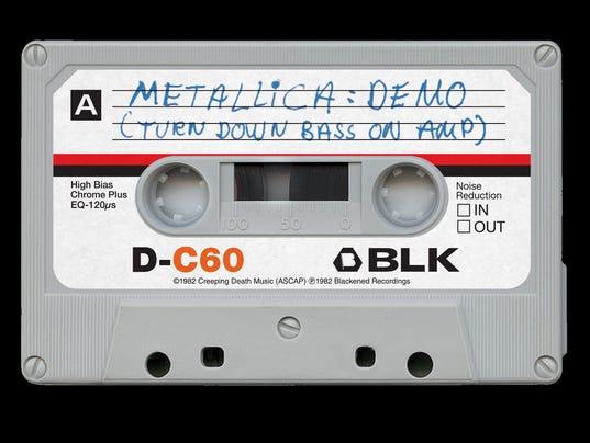 Metallica cassette