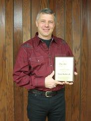 Winner of the Volunteer Award, Stan Kubicek.