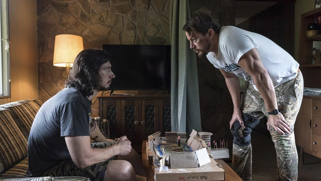"""Adam Driver, left, and Channing Tatum star in """"Logan Lucky."""""""