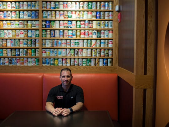 Chickie's & Pete's Vice President of Operations Joe Carpinella inside the new location in Glassboro.
