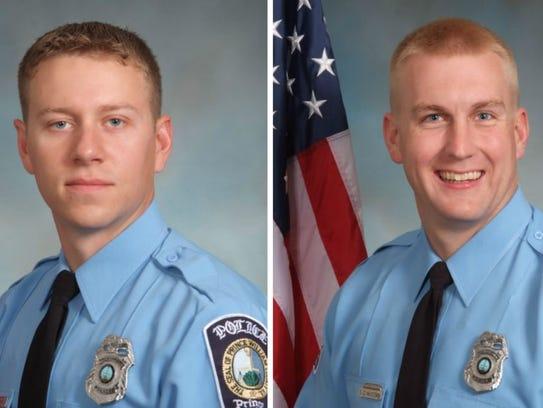 Ofc. Jesse Hempen, 31, and Ofc. David McKeown, 33.