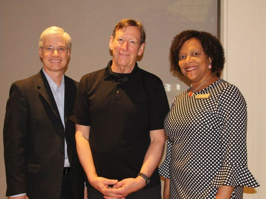 GYAC Chair Adam Bolinger, Doug Berky and GYAC Executive Director Angelia Perry
