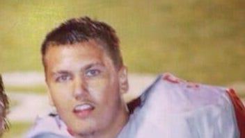 Hendersonville senior lineman Adam Rice.