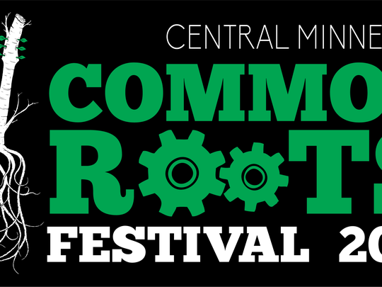 The logo for the 2018 Common Roots Music Festival.