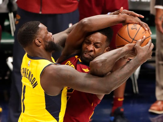 AP CAVALIERS PACERS BASKETBALL S BKN USA IN