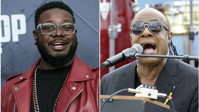 In an episode of Epic Rap Battles of History, T-Pain raps as Stevie Wonder. This is something you need to witness.